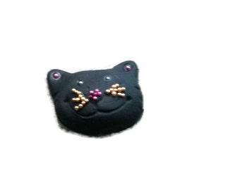 Cat Rings, Purple Cat, Black Cat Rings, Kids Rings, Kawaii Jewelry