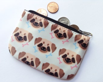 Pug Mini Coin Purse
