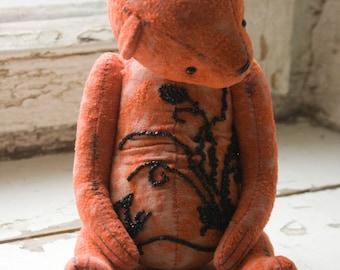 "OOAK artist teddy bear ""Bead"""