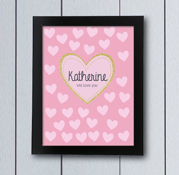 Baby Shower Sign In Book Ideas ~ Love hearts baby shower sign in board guestbook
