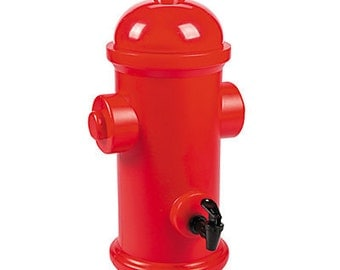 1/ Fire emergency team Drink Dispenser / firefighter party / fireman theme party