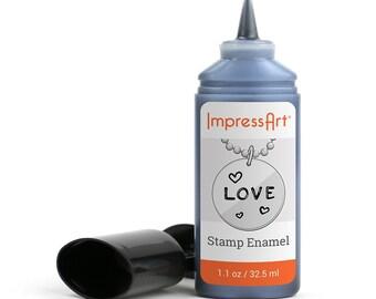Metal Stamping Enamel. Metal Stamping Patina, Metal Enamel, Metal Stamping Tools, Metal Stamping Supplies, Metal Smith Tools, ImpressArt