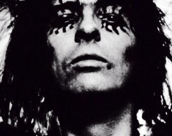 Alice Cooper Poster, Musician, Heavy Metal, Shock Rock, Garage Rock