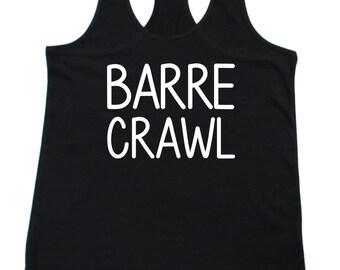 Barre Crawl Pure Barre Tank. Size S-XL
