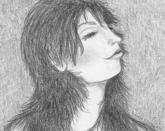 Sensual woman art, sensual women art, vintage art, blissful art, beautiful woman, beautiful women, giclee print, wall art, CanTeam