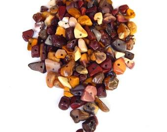 Mookaite Chips, 50pcs, Mookaite Beads, Mookaite Nuggets, Healing Beads, Destash