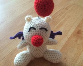 Moogle Crochet Doll