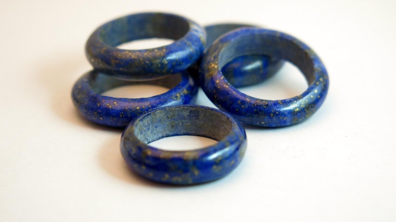 antique vintage afghan lapis lazuli ring