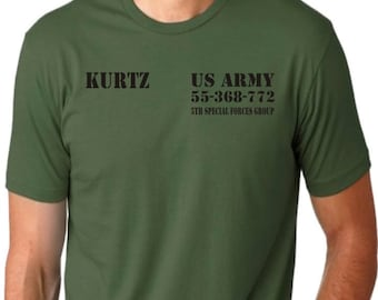 Apocalypse Now Col. Kurtz Army T-Shirt - Brando, Icon, All Sizes/Colours