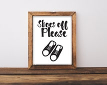 Take Your Shoes Off ? (Signs, Opinions   Warhol) - Improvised Life