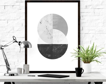 Geometric Art, Printable Abstract Art, Scandinavian Print, Printable Art, Modern Art, Graphic Print, Abstract Print, Digital Downlaod Print