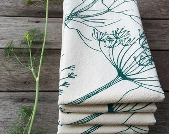 Flour Sack Towel, Cotton Tea Towel, Kitchen Towels, Tea Towels, Cotton Dishcloth, Flour Sack Towels, Tea Towel, Cotton Kitchen Towel, Dill