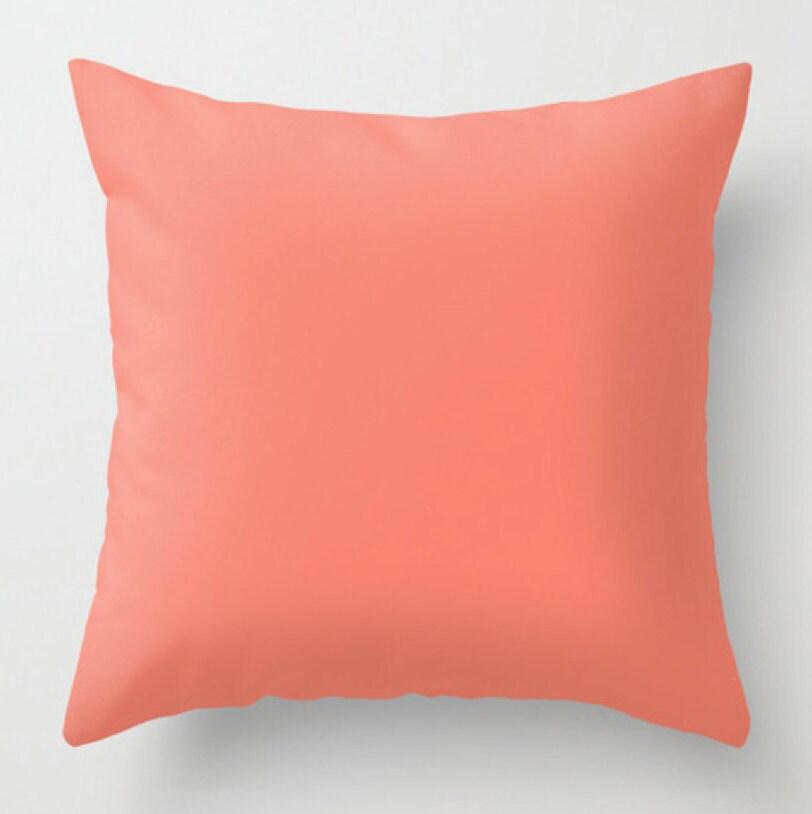 Coral Sofa Pillow: Coral Pillow Decorative Pillow Throw Pillow Sofa Decor