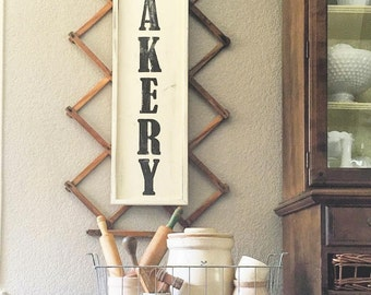 Bakery Distressed Sign