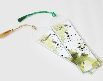 Personalized Bookmark Favors Graduation Gift Custom Bookmark Unique Bookmarks Cute Bookmarks For Books Paper Bookmarks Stocking Stuffer