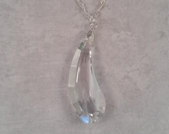 Swarovski Crystal Necklace - Clear
