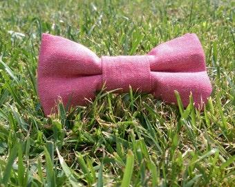 Handmade Red Bowtie