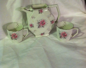 French Li Modges Art Deco Coffee set from the 1920's
