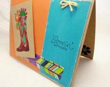 Earth Tone Card - Texan Flowers