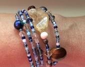 Custom-made Astrological Birthchart Gemstone Bracelet