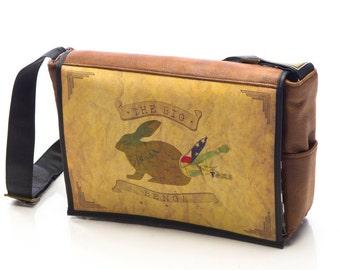 Student - Big Benga Print - Benga Rabbit - Messenger Bag