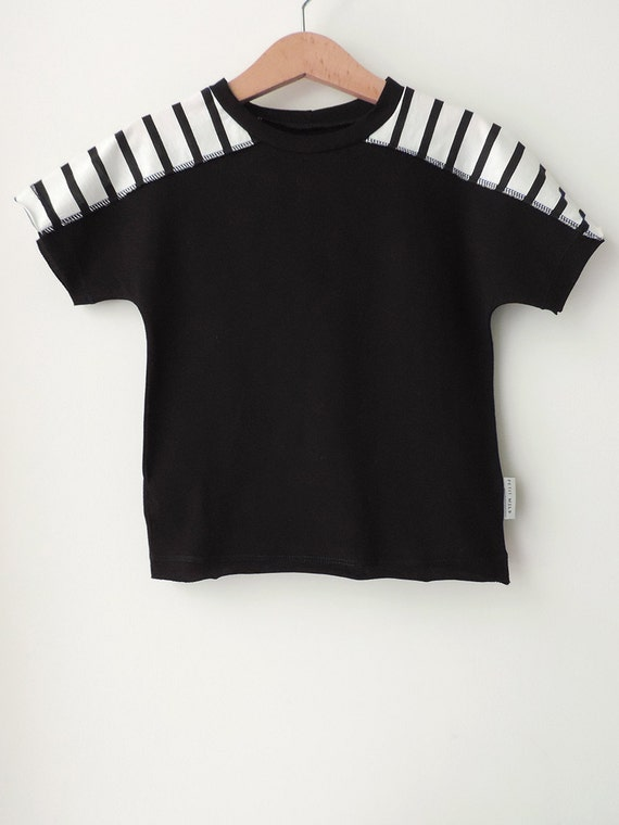 Toddler T-Shirt, Black T-Shirt, Boys T-Shirt, Girls T-Shirt, Hipster T-Shirt, Black and White T-Shirt, Cool Toddlers, Toddler Sale