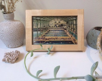 4x6 Craftsman Style Maple Wood Picture Frame