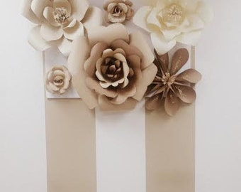 Large Paper Flower Arrangement (Office) decor
