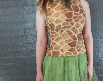 Vintage Green Petticoat Tutu by Twelve by Twelve S