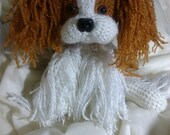 Crochet King Charles Cavalier Spaniel dog Any breed or colors