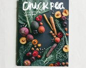 chickpea vegan quarterly magazine - summer 2015 issue - vegan zine small press