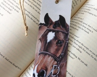 Apple Jack – Illustrated Show Horse Bookmark – 2 x 6