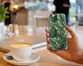 Custom Palm Leaf iPhone 4, 5, 6 / Samsung Galaxy S4, S5, S6 Case