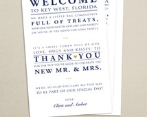 Popular Items For Welcome Bags On Etsy
