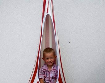 red white zebra swing handmade hammock chair for children relaxing chair swing indoor outdoor. Black Bedroom Furniture Sets. Home Design Ideas