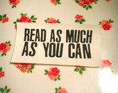 Read as Much as You Can Patch