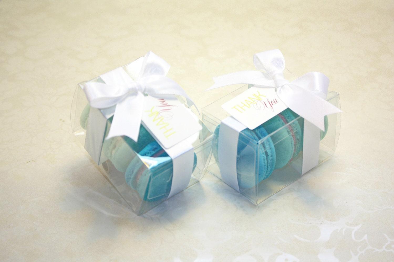 Malibu Blue Favor Boxes: Royal blue wedding favor boxes themed ...