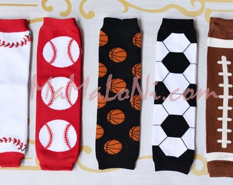 Boy's leg warmers, leg warmers, baby leg warmers, baby legs, girls leg warmers, baby girls, leggings, soccer, football, baseball, basketball