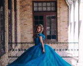 Cinderella Disney Dress - Costume / Cosplay Gown - 2015 Live Action Movie - Womens - Custom Size