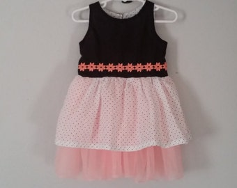 Polka-dot Poof Size 12-18 months