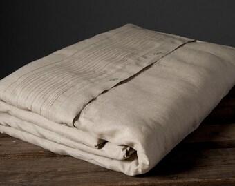 Gray Linen Duvet Cover - Grey Bedding - Linen Bedding - Queen Duvet Cover - King Duvet Cover