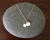 CUSTOM ORDER: 11 bridesmaid necklaces / 14k gold fill & freshwater pearl / meoMADE