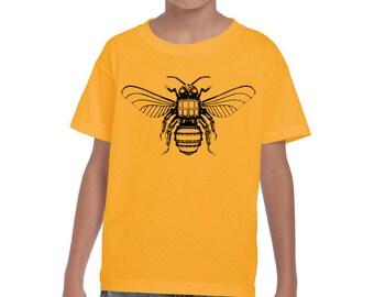 Boys Steampunk Sweat Bee Shirt  8000B