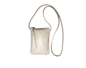 Small Crossbody Leather Phone Purse, Small Cross Body Purse with Leather Strap