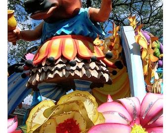 Cowbellion Photograph - Boeuf Gras Mardi Gras