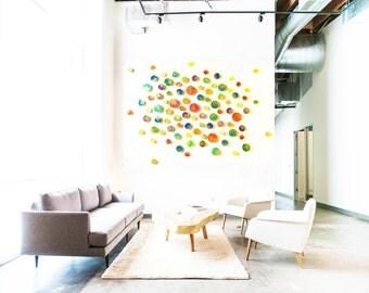 Abstract Wall Sculpture | Art Installation | Modern Art | Corporate Art | Custom 3D Art | Original Sculpture | Rosemary Pierce Modern Art