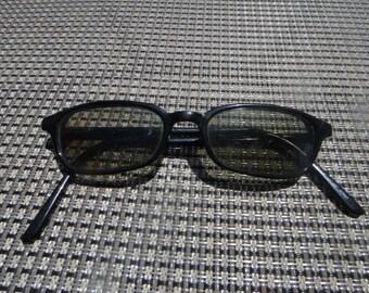 Vintage Black Funky Retro Black Shades Sunglass Glasses Sun Glasses