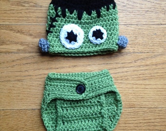 Various Halloween Hat/Diaper Cover Sets