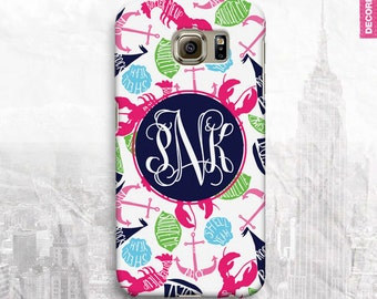 Butter Me Up Rock My Boat Monogram Samsung Galaxy S4 Case, Samsung Galaxy S5 Cover