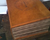 Custom books LOTR Lord of the Rings style, hand-bound.